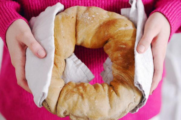 Rezept für ein leckeres Brot aus der Heißluftfritteuse