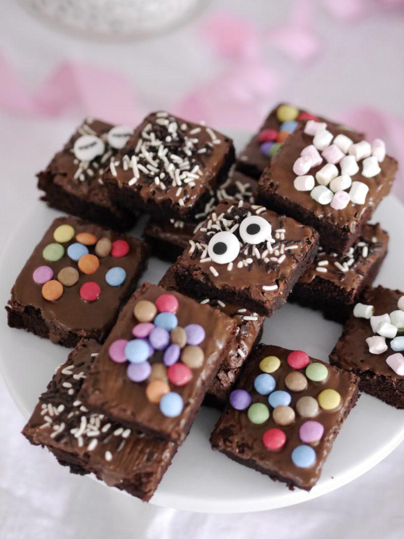 Brownies mit Smarties Rezept