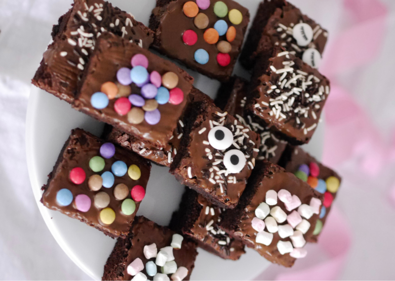 Brownies mit Smarties
